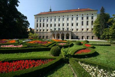 Zámek a zámecké zahrady Kroměříž