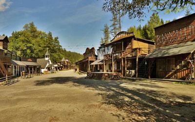 Westernové městečko Šiklův Mlýn