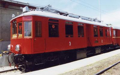Nejstarší vlaková trať F. Křižíka Bechyně- Tábor
