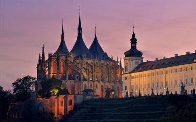 UNESCO Chrám sv. Barbory
