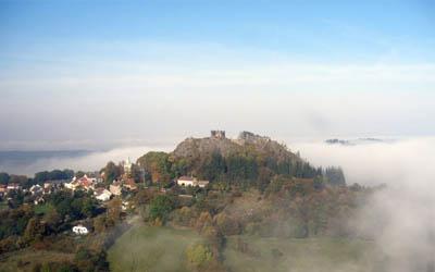 Zřícenina hradu Engelsburg - Andělská hora