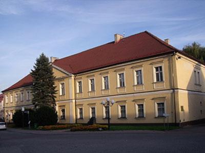 Palác ve městě Wodzisław Śląski