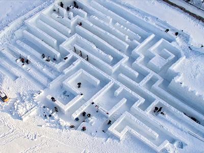 Snowlandia - Ledové bludiště