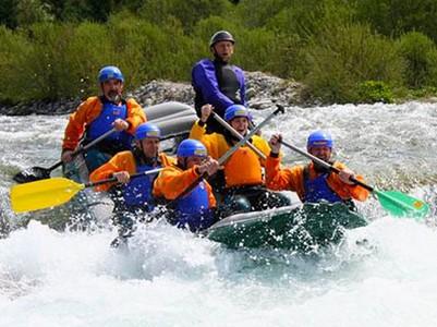 Areál vodného slalomu
