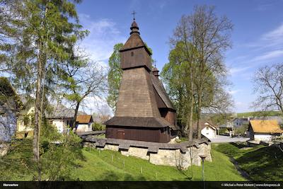 Drevený artikulárny kostol Hervartov