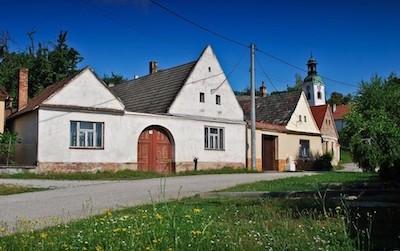 Habánsky dvor v Sobotišti