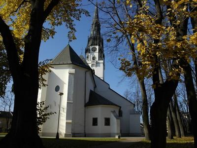 Najvyššia kostolná veža Slovenska