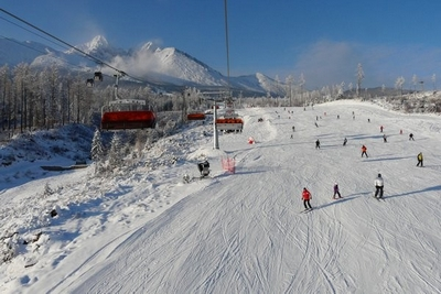 Ski resort Tatranská Lomnice
