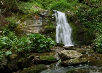Vodopád pod Orlovou