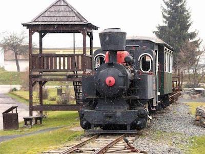 Historická železnica vo Vígľaši
