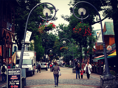 Ulica Krupówki