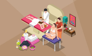 Relaxujte na masáži