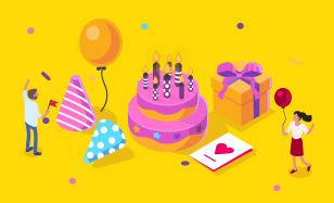 8 narodeniny - Odmena za každý nákup!