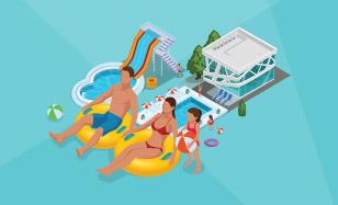 Zábava v aquaparkoch